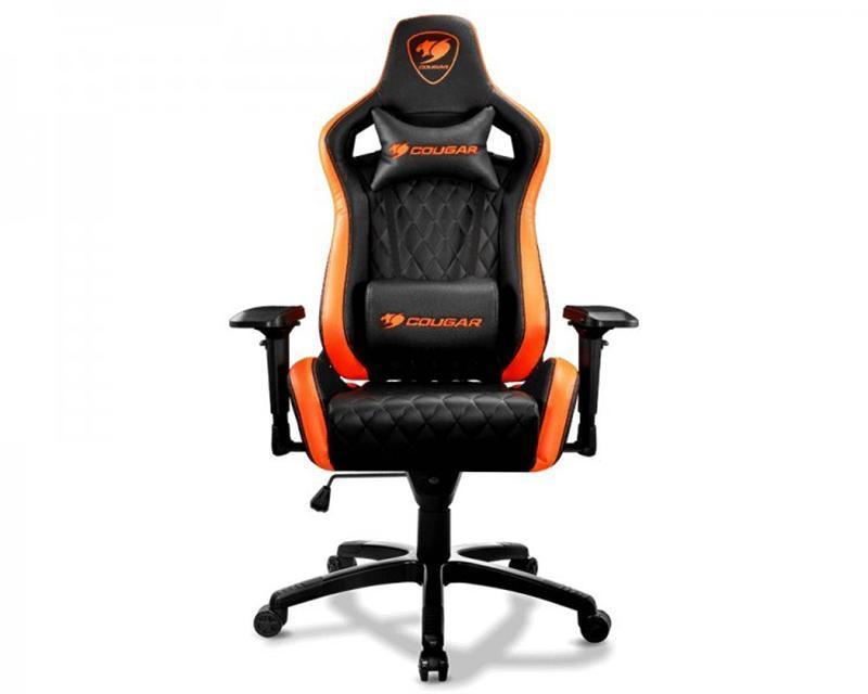 Кресло для геймеров Cougar Armor S Black-Orange