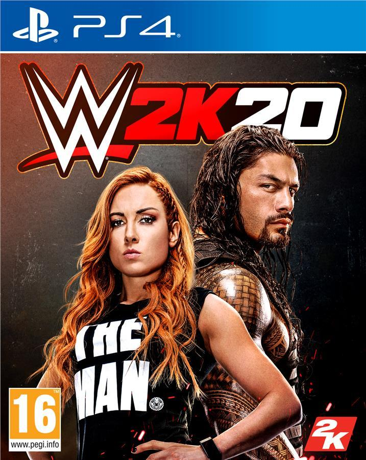 Игра WWE 2K20 для Sony PlayStation 4, English version, Blu-ray (5026555425629)