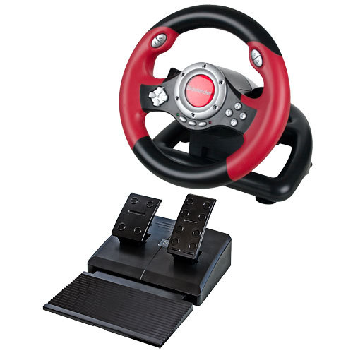 Руль Defender Challenge Mini LE (64351) Black-Red USB