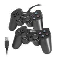 Геймпад Gemix GP-50 Twin Black (GP50TWIN) PC/USB