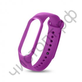 Ремешок для Mi 3/4 band silicon loop purple