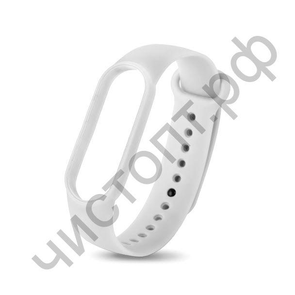Ремешок для Mi 5 band silicon loop white