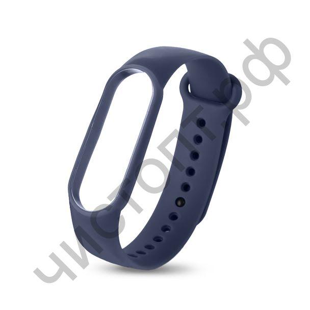 Ремешок для Mi 5 band silicon loop Space Blue
