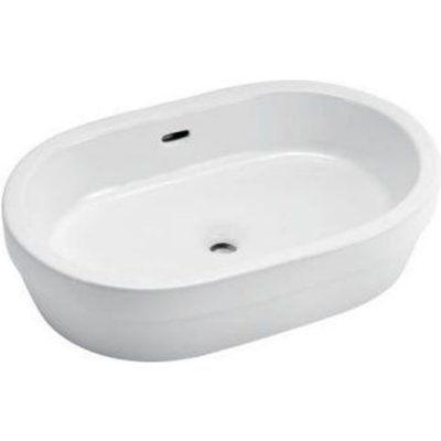 Раковина для ванной белая к столешнице GT301
