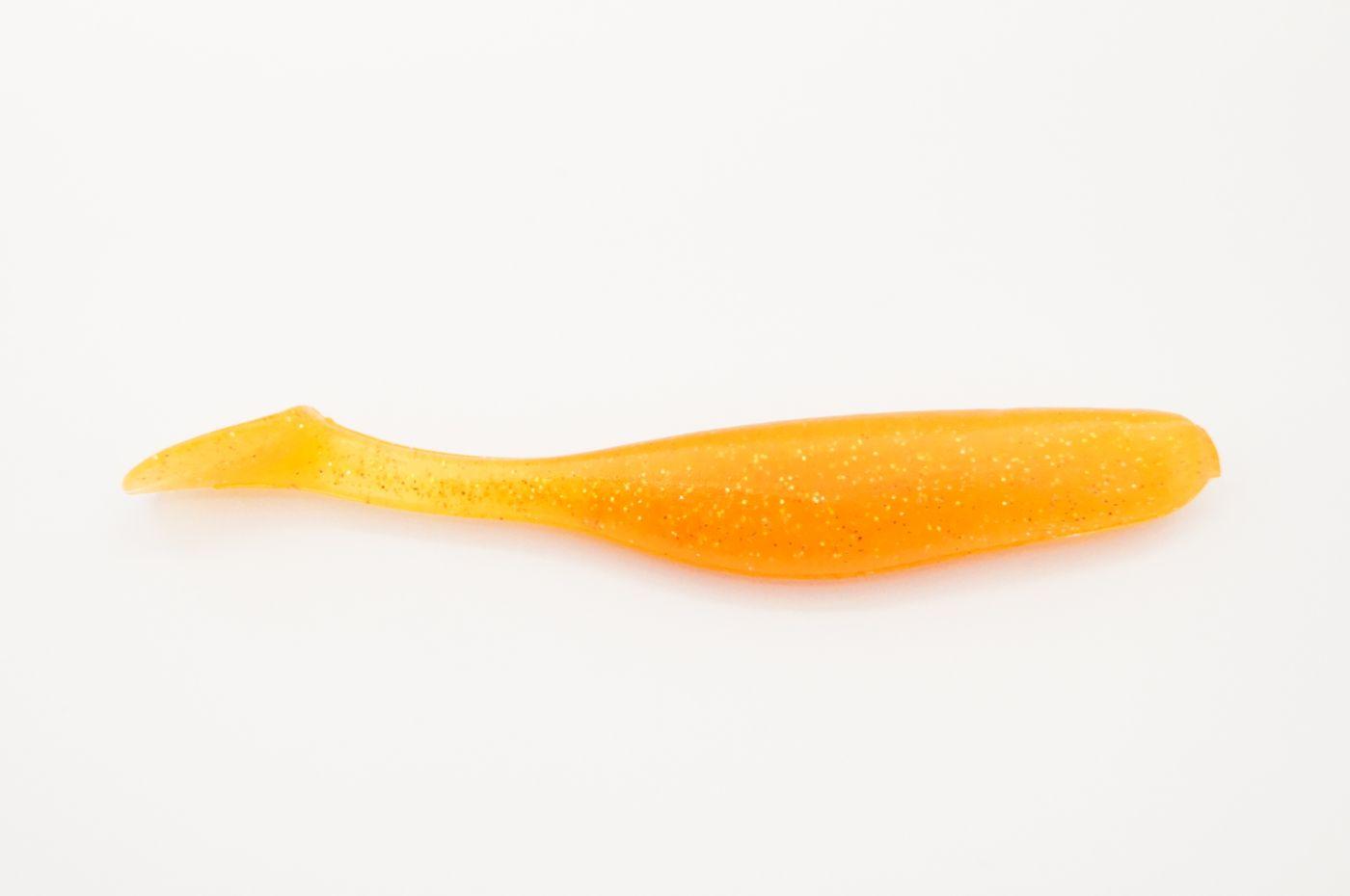 Виброхвост GruzilaNsk Fast BASS, цвет #03 - Orange