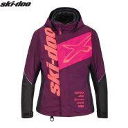 Куртка женская Ski-Doo X-Team, Розовая мод. 2021