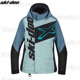 Куртка женская Ski-Doo X-Team, Голубая мод. 2021