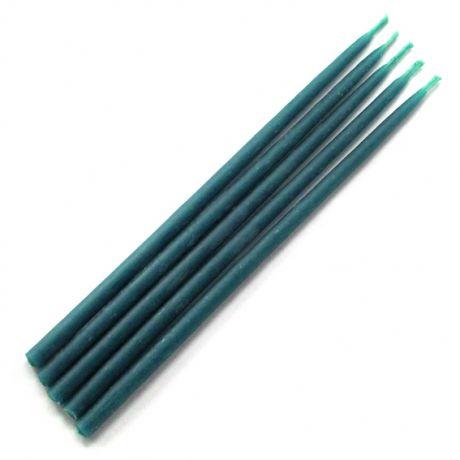 Свеча магическая 15х0,5см, цвет синий