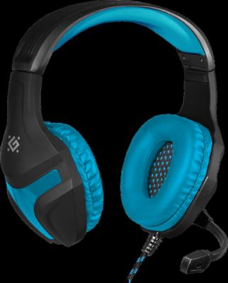 НОВИНКА. Игровая гарнитура Scrapper 500 синий + черный, кабель 2 м