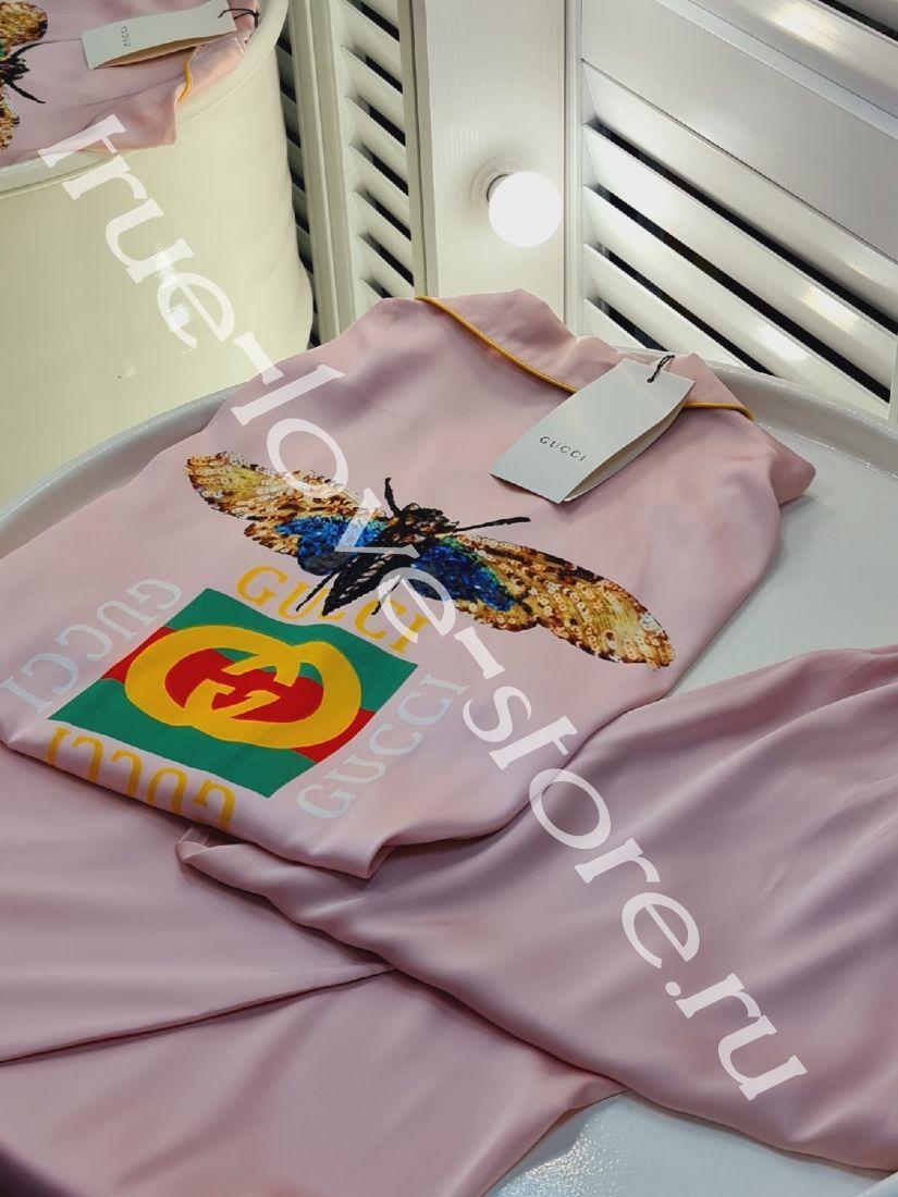 720189 -Цена за 3 шт, Пижама двойка Gucci wasp(М, L,XL)
