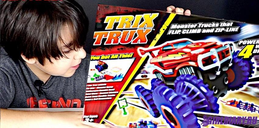 Набор Монстр-трак из машинки Trix Trux  и трек арт.BB885