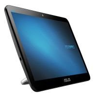 "Моноблок Asus V161GAT-BD003D (90PT0201-M00070); 15.6"" (1366x768) TN сенсорный / Intel Celeron N4000 (1.1 - 2.6 ГГц) / RAM 4 ГБ / SSD 128 ГБ / INTEL HD Graphics 600 / без ОП / LAN / Wi-Fi / Bluetooth / веб-камера / Linux / черный"