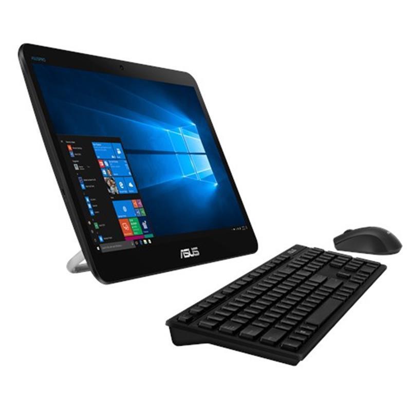 "Моноблок Asus V161GAT-BD004D (90PT0201-M00080); 15.6"" (1366x768) TN сенсорный / Intel Celeron N4000 (1.1 - 2.6 ГГц) / RAM 8 ГБ / SSD 256 ГБ / INTEL HD Graphics 600 / без ОП / LAN / Wi-Fi / Bluetooth / веб-камера / Linux / черный / клавиатура + мышь"