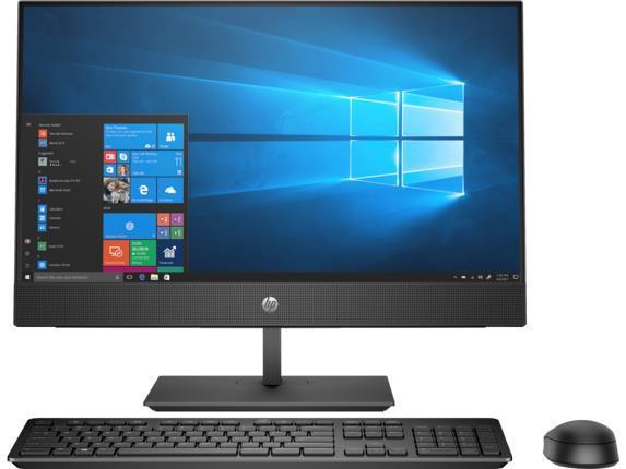 "Моноблок HP ProOne 440 G5 (6AE50AV_V14); 23.8"" (1920х1080) IPS / Intel Core i5-9500T (2.2 - 3.7 ГГц) / RAM 8 ГБ / HDD 1 ТБ + SSD 128 ГБ / Intel HD Graphics 630 / DVD-RW / LAN / Wi-Fi / Bluetooth / веб-камера / DOS / черный / клавиатура + мышь"