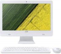 "Моноблок Acer Aspire C20-720 (DQ.B6ZME.005); 19.5"" (1600х900) LED / Intel Pentium J3710 (1.6 - 2.64 ГГц) / RAM 4 ГБ / HDD 500 ГБ / INTEL HD Graphics 405 / DVD-RW / LAN / Wi-Fi / BT / веб-камера / кардридер / DOS / белый / мышь + клавиатура"