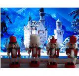Щелкунчик - набор деревянных ёлочных игрушек 4 шт IR49