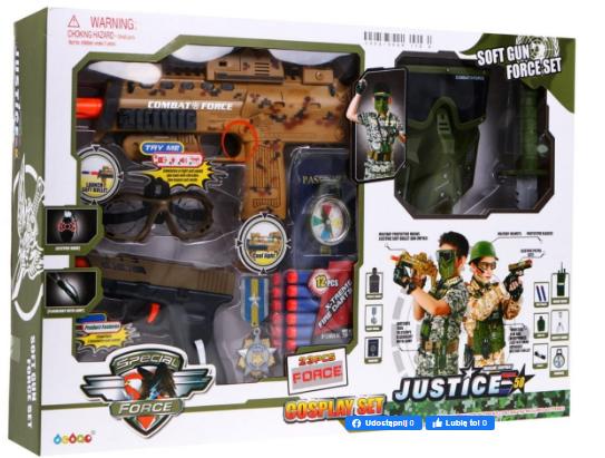Игровой набор солдата ZMI.34600