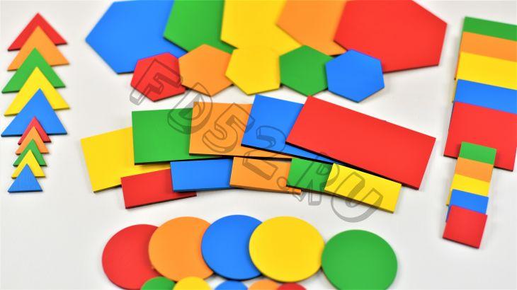 Набор плоскостных геометрических формИО-354