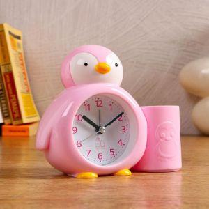 """Будильник """"Пингвинёнок"""", с карандашницей, микс   5198849"""