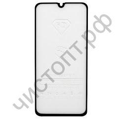 Защитное стекло Samsung A40 с рамкой 9H Full Glue без упаковки