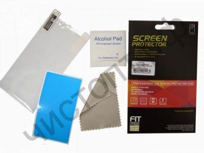Защ. пленка для экрана Sony Z (глянц)