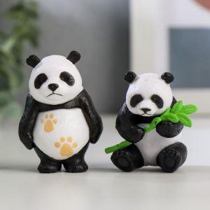 """Сувенир пластик """"Панда"""" МИКС 4,5х3,4х2,8 см   5115794"""