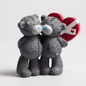 "Сувенир полистоун ""Медвежата Me to you влюблённые"" 8х10 см   4518174"