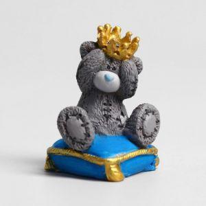 """Сувенир полистоун """"Медвежонок Me to you на подушке - Маленький принц"""" 4,5 см   4518163"""