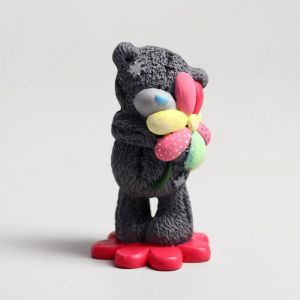 "Сувенир полистоун ""Медвежонок Me to you с цветиком-семицветиком"" 6,5х7 см   4518171"