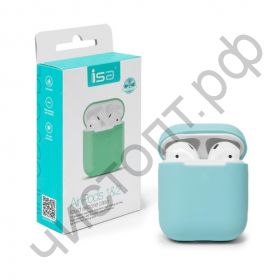 Чехол Apods Silicon Case 1/2 I Mint Creen