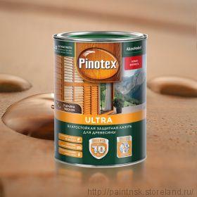 Лак-антисептик Pinotex Ultra лазурь цветная