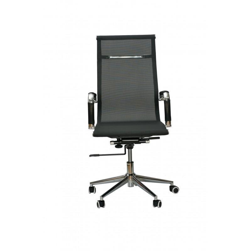 Кресло офисное Special4You Solano black (E0512)