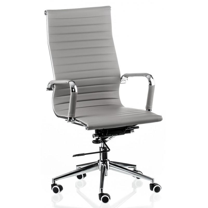 Кресло офисное Special4You Solano Artleather Grey (E4879)