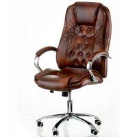 Кресло офисное Special4You Kornat Brown (E5722)