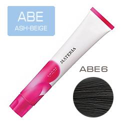 Lebel Краска для волос Materia ABE6 - Тёмный блондин пепельно-бежевый 80 гр