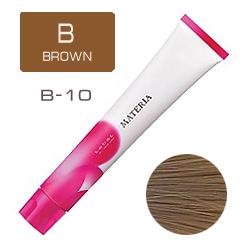 Lebel Краска для волос Materia B10 - Яркий блондин коричневый 80 гр
