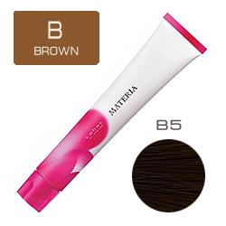 Lebel Краска для волос Materia B5 - Светлый шатен коричневый 80 гр