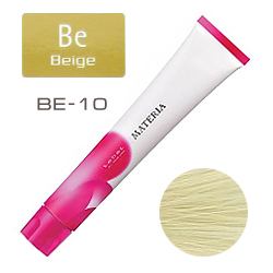 Lebel Краска для волос materia BE10 - Яркий блондин бежевый 80 гр