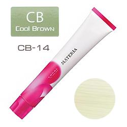 Lebel Краска для волос materia CB14 - Экстра блондин холодный коричневый 80 гр