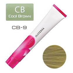 Lebel Краска для волос materia CB9 - Очень светлый блондин холодный 80 гр
