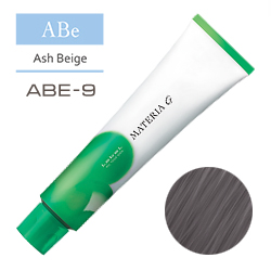 Lebel Краска для волос Materia G Тон ABE9 - Очень светлый блондин пепельно-бежевый  120 гр.