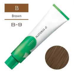 Lebel Краска для волос Materia G Тон B9 - Очень светлый коричневый 120 гр