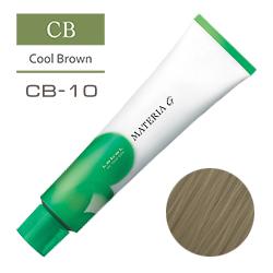 Lebel Краска для волос Materia G Тон CB10 - Яркий блондин холодный 120 гр