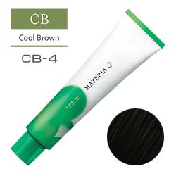 Lebel Краска для волос Materia G Тон CB4 - Шатен холодный 120 гр