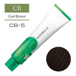 Lebel Краска для волос Materia G Тон CB5 - Светлый шатен холодный 120 гр