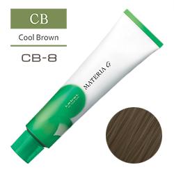 Lebel Краска для волос Materia G Тон CB8 - Светлый блондин холодный 120 гр