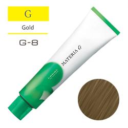 Lebel Краска для волос Materia G Тон G8 - Светлый блондин желтый 120 гр.