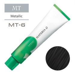 Lebel Краска для волос Materia G Тон MT6 - Тёмный блондин металлик 120 гр.