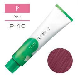 Lebel Краска для волос Materia G Тон P10 - Яркий блондин розовый 120 гр.