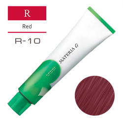 Lebel Краска для волос Materia G Тон R10 - Яркий блондин красный 120 гр.